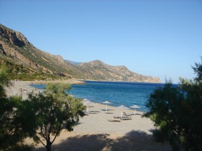 Gialiskari Beach, by Elisabeth