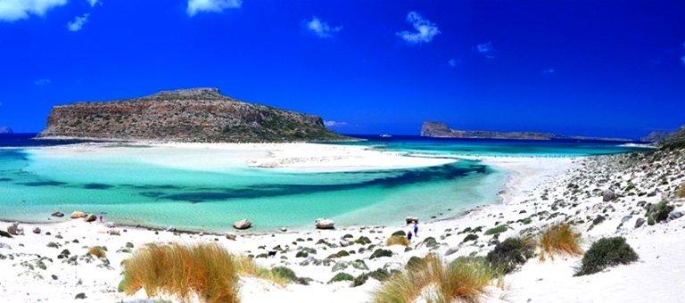 This is Gramvousa and Balos Lagoon