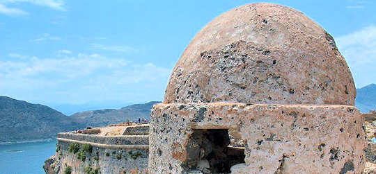 Gramvousa old Venetian fort