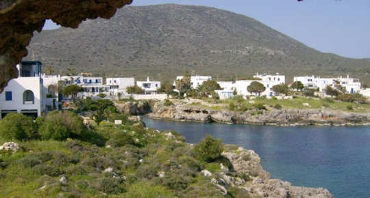 Stay in the rocky bay of Avlemenos in Kythera