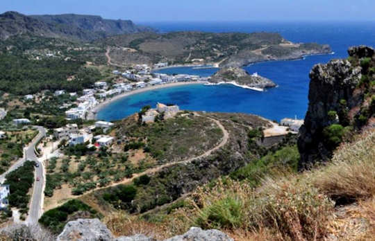Capsali in Kythera, Greece