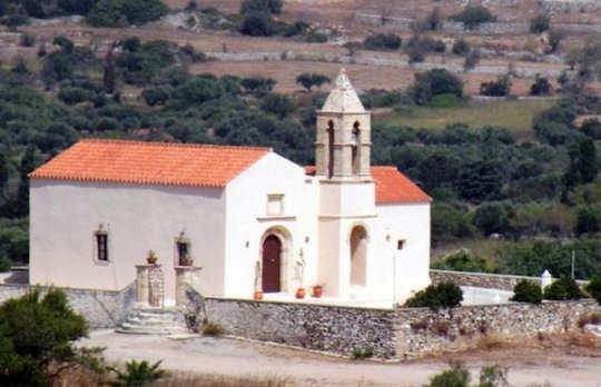 Church on Kythera, Greece