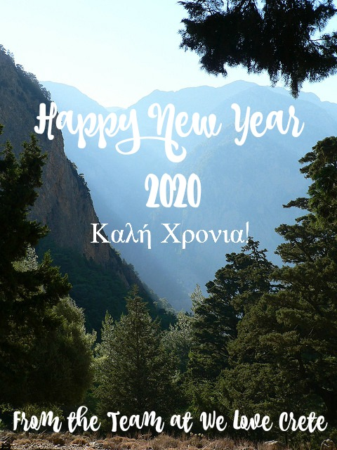 Happy New Year from the We Love Crete Team