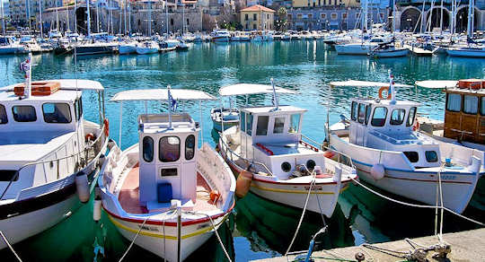 Old harbour, Heraklion