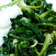 Mediterranean diet foods Stamnagathi Wild Greens