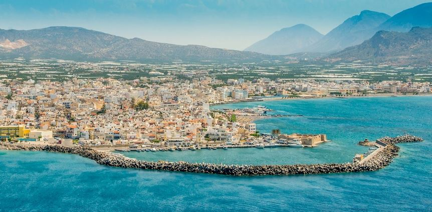 Ierapetra is your departure point for a boat cruise to Chrissi Island