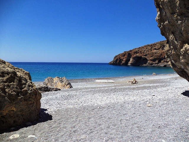 Ilingas Beach near Loutro (image by Vasdekis)
