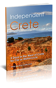 Five Days in the West of Crete by Car or Motorcycle - ebook cover