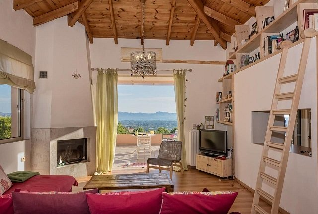 For a charming rural experience nearby to the ferry port, we would recommend the Irida's House