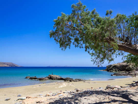 Itanos is an idyllic untouched beach 17 km from Sitia