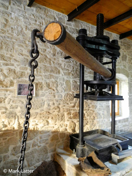 The Old Olive Press (image by Mark Latter)