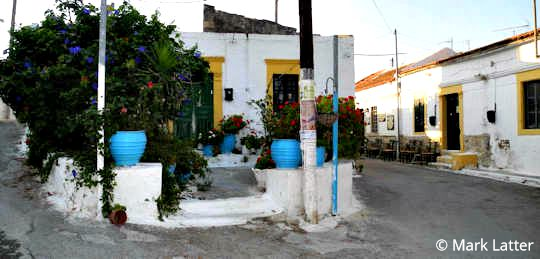 A typical village in Crete (image by Mark Latter)