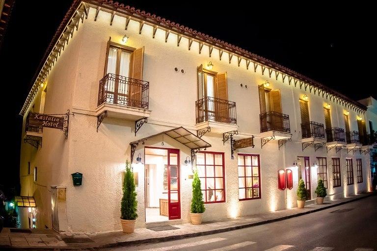 Kastalia Boutique Hotel Delphi Greece