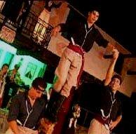 Cretan dancing during Klidonas Festival