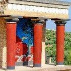 Knossos Palace near Heraklion, Crete