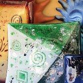 Local artwork - beautiful coloured glass