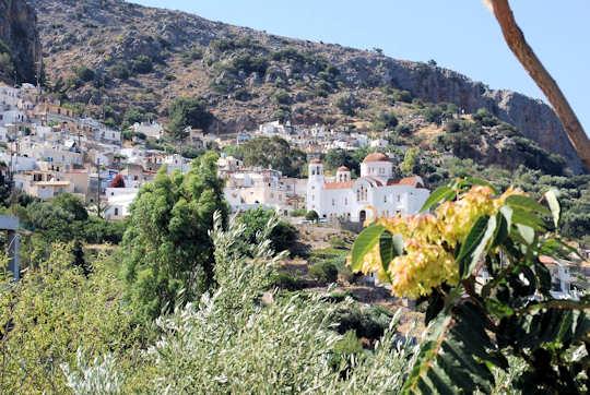 Kritsa Village in eastern Crete