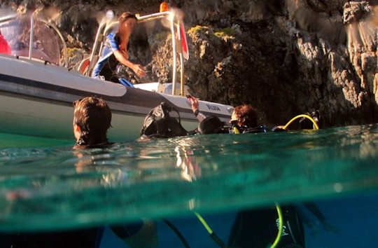 The Kythera Dive Centre is at Kapsali