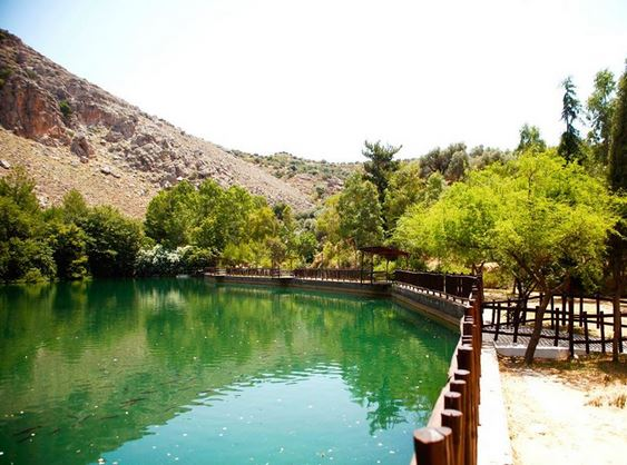 Lake Zaros - perfect for a day trip