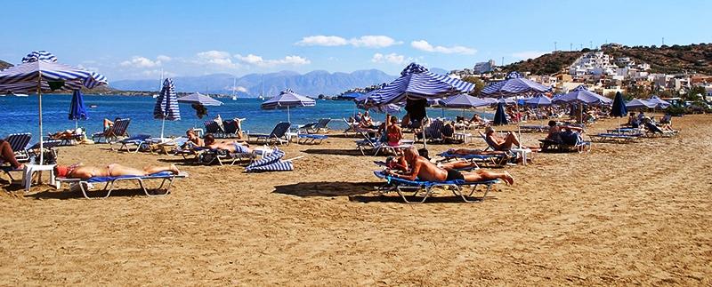 Elounda Beach, Crete