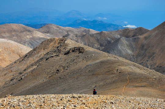 Walking in Crete - the Lefka Ori - White Mountains of Chania