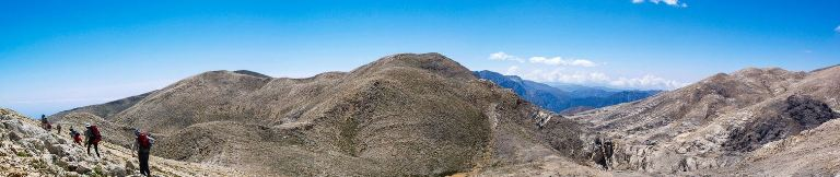 Lefka Ori - White Mountains of Crete - Panorama