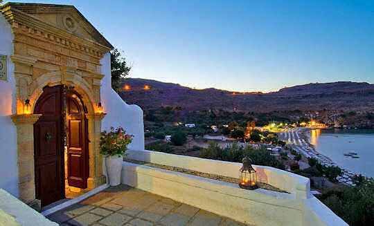 Lindos on Rhodes Island is very romantic