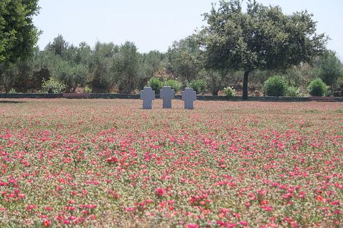 German War Cemetery at Maleme, Crete (image by Konstantinos Mavroudis)