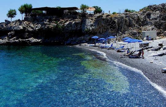 Marmara Beach, Crete (image by Yatmandu)