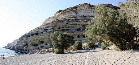Matala Beach (image by Shadowgate)