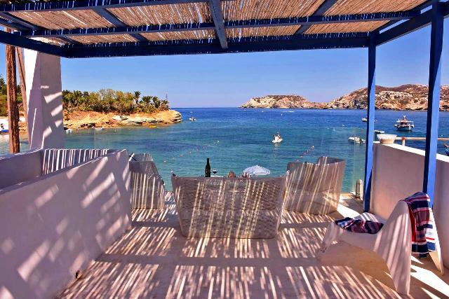 Mpitzarakis Studio - Agia Pelagia Crete - wonderful position - stylishly presented and wait until you meet Gianni!