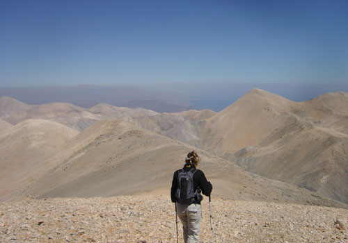 High Desert of The White Mountains, Crete