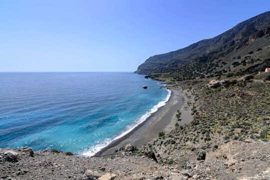 Pachia Ammos Beach near Tris Ekklisies Village