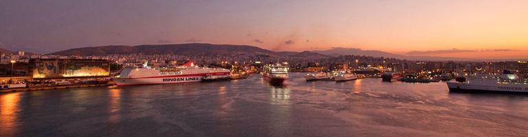 Harbour at Pireaus, Athens