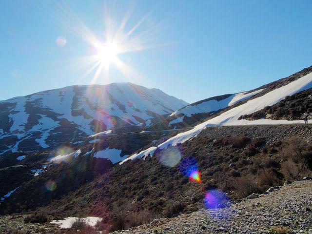 Psiloritis - Mt Ida in snow (image by Dimitris Pachakis)