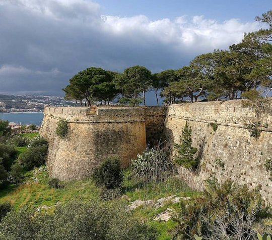 Rethymnon Fortezza - take a half day walking tour here