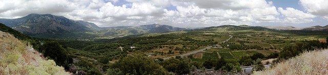 Lasithi Plateau in Crete, (photo by Sergey Stoma)