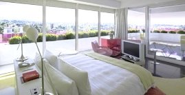 Semiramis Hotel - Kifissia - bedroom interior with views