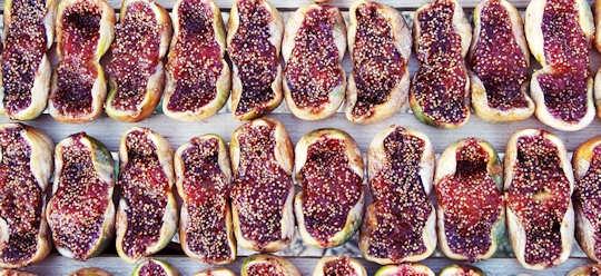 Split sun dried figs