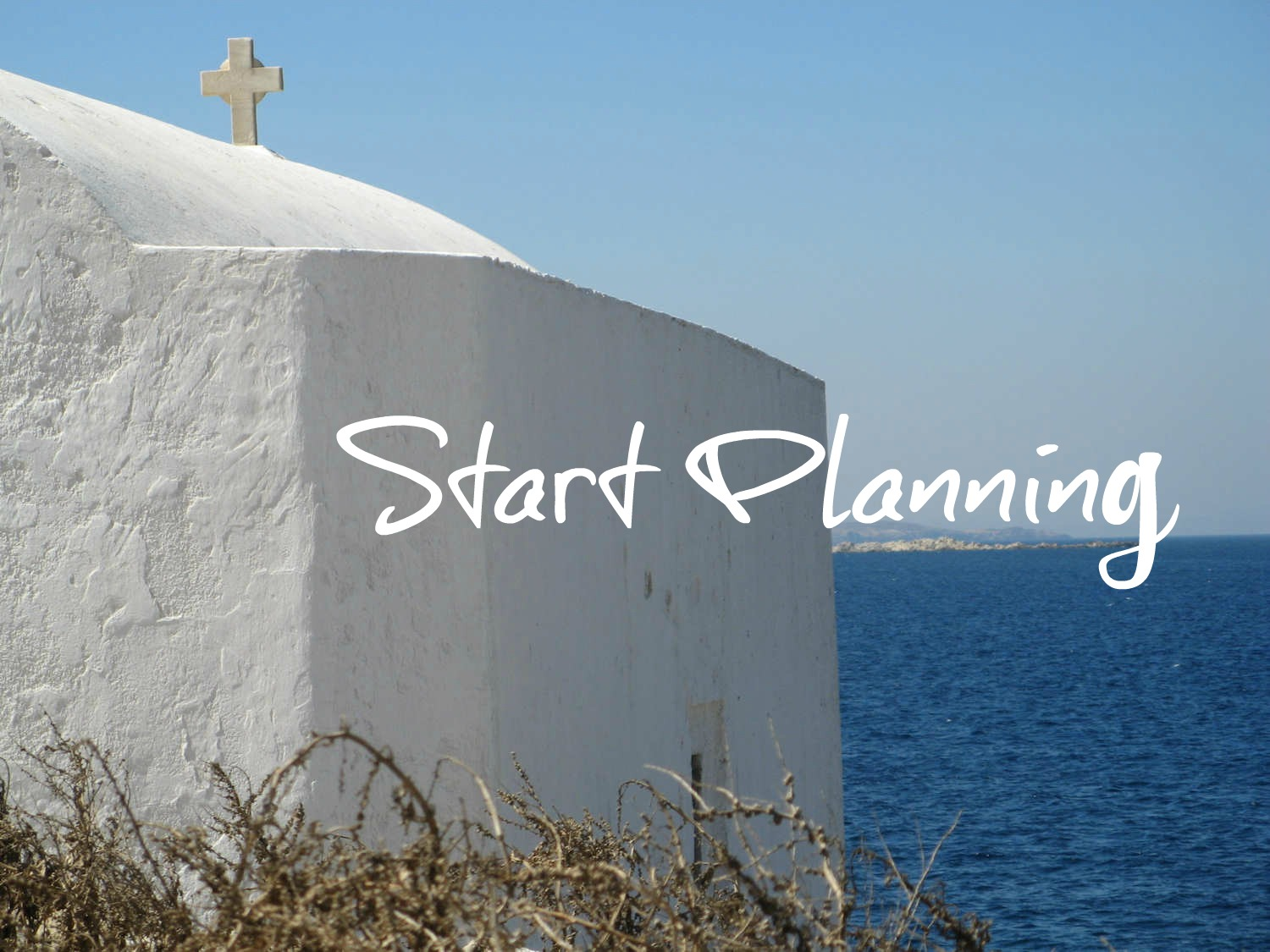 Start Planning your island holiday in Greece