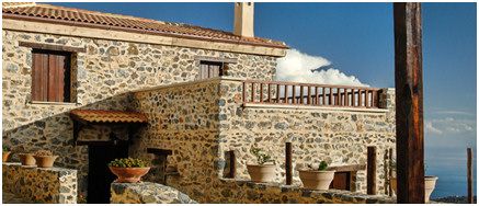 The whole village of Thalori can be rented for a large group, with over 20 beautifully renovated houses to choose from