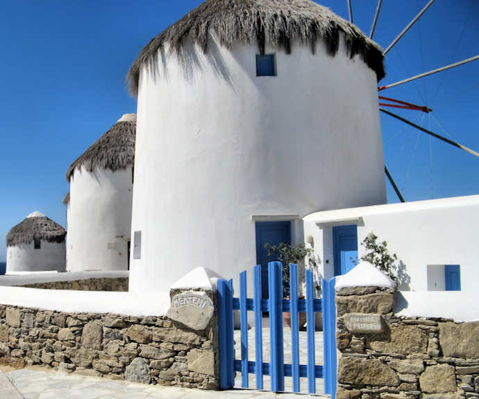 Mykonos - the Windmills