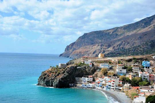Tris Ekklisies Main Beach, Crete