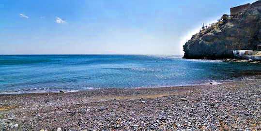 Tris Ekklisies - Three Churches Beach