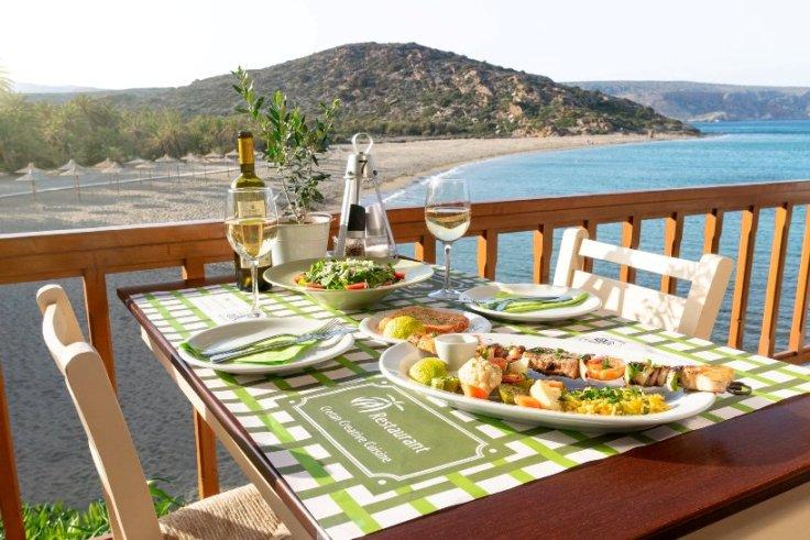 Experience Cretan creative cuisine at Vai Restaurant