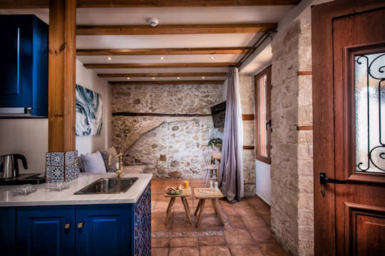 The Veneziano Boutique Hotel is a beautifully renovated noble home in Heraklion town