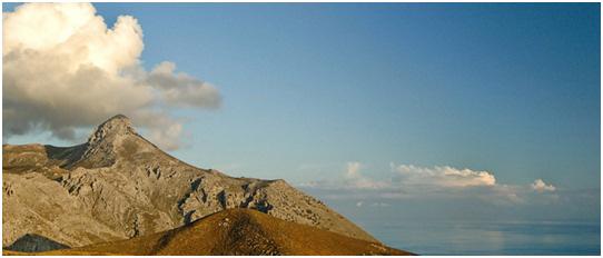 Mount Kophinas - View from Thalori Resort, Kapetaniana Village