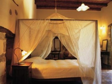 Elia Guesthouse, interior detail of bedroom