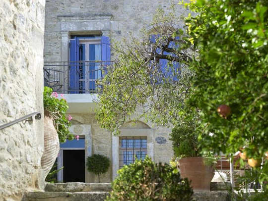 Villa Kerasia sits in the countryside just outside Kerasia Village in central Crete