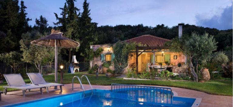 Villa Petra in Rethymnon Crete